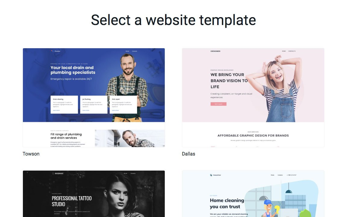 Template-gallery
