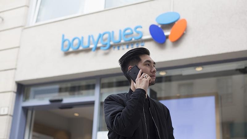 Appels par Wi-Fi proposés par Bouygues Télécom