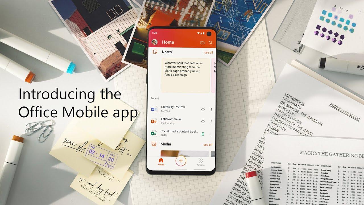 Microsoft lance une application Office tout en un
