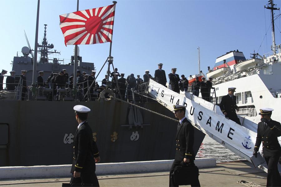 une connexion wifi, le pari de la marine japonaise
